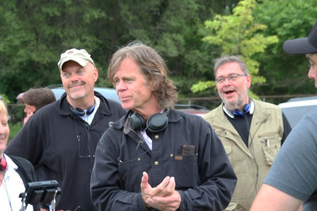 Dave Topping Drone Pilot - William H Macy director actor and Rob Haller Drone Navigator - The Layover Movie