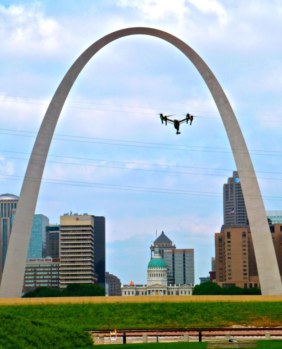 Professional St Louis Commercial Drone Video Production and Photography